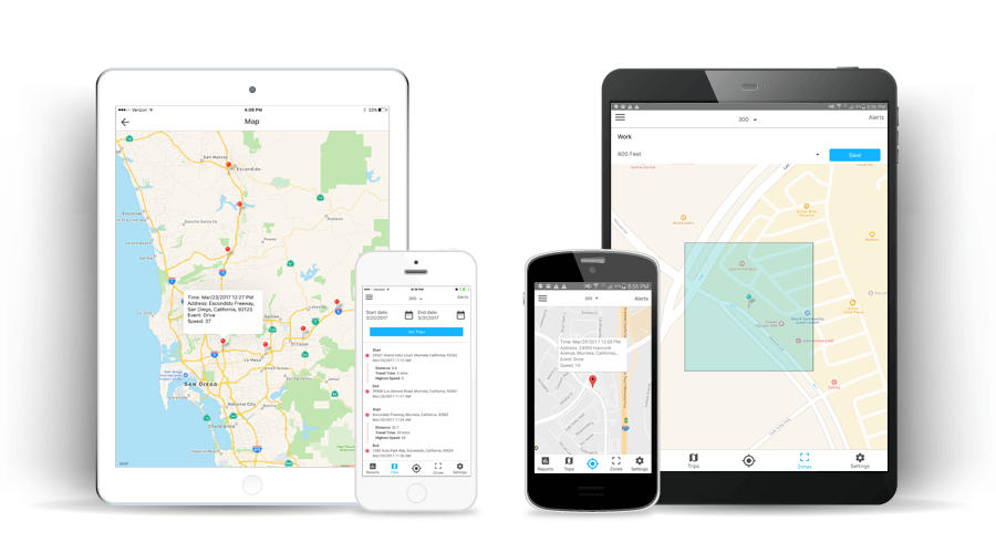 AVAS GPS Tracking Mobile Apps