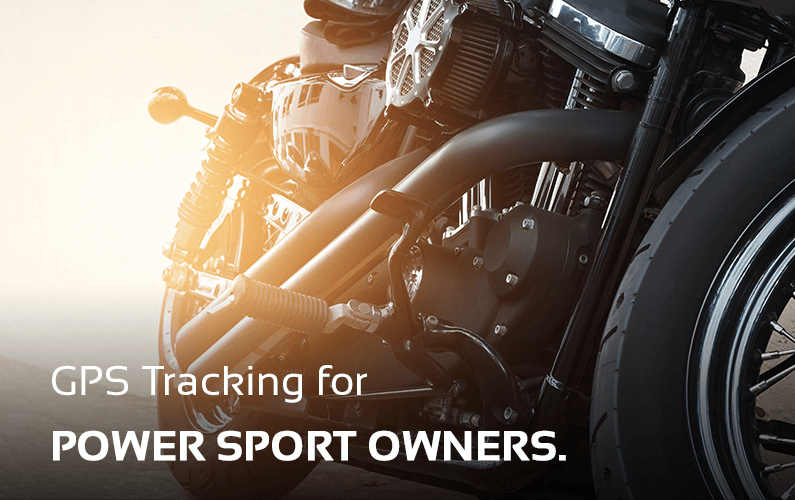GPS Tracking For Power Sport Vehicles