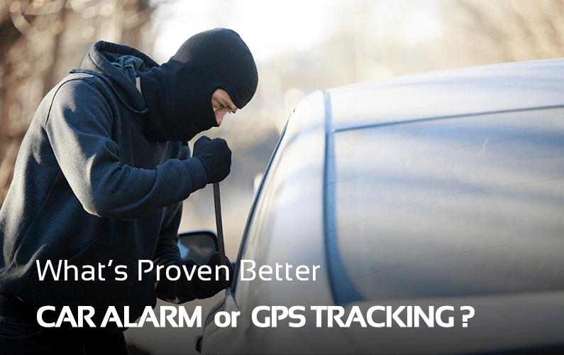 Car Alarm Versus GPS Tracking