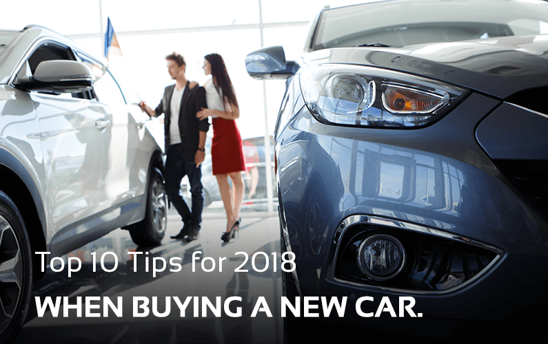 10 Tips When Buying New Car