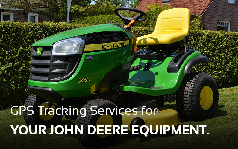 John Deere GPS Tracking Services