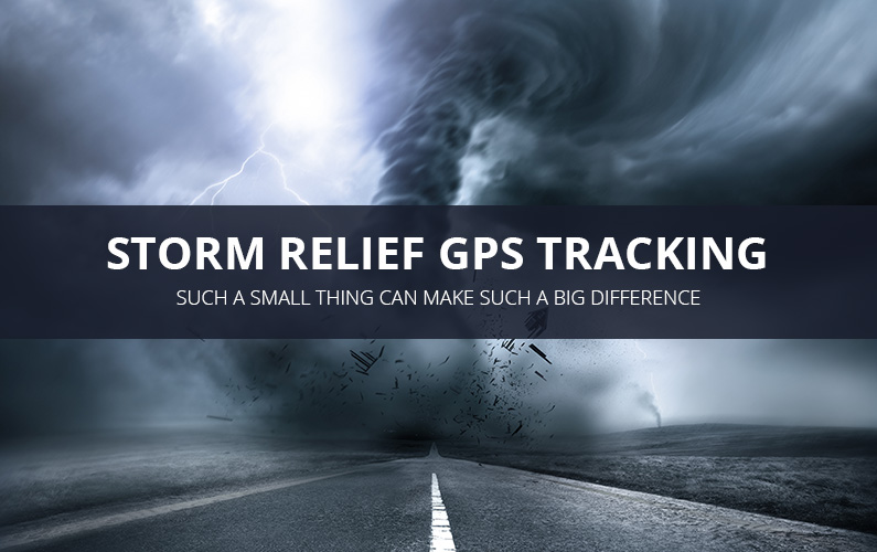 Storm Relief GPS Tracking Services