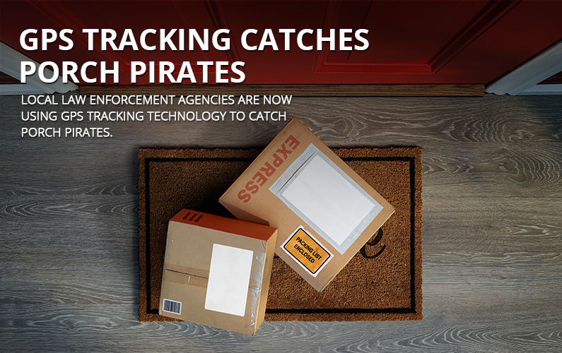 GPS Tracking Device Catch Porch Pirates