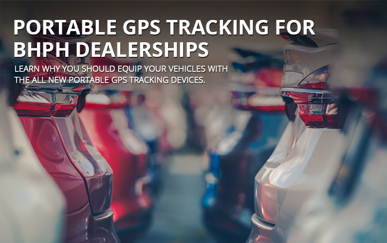 Portable Tracking For Buy Here Pay Here Dealerships