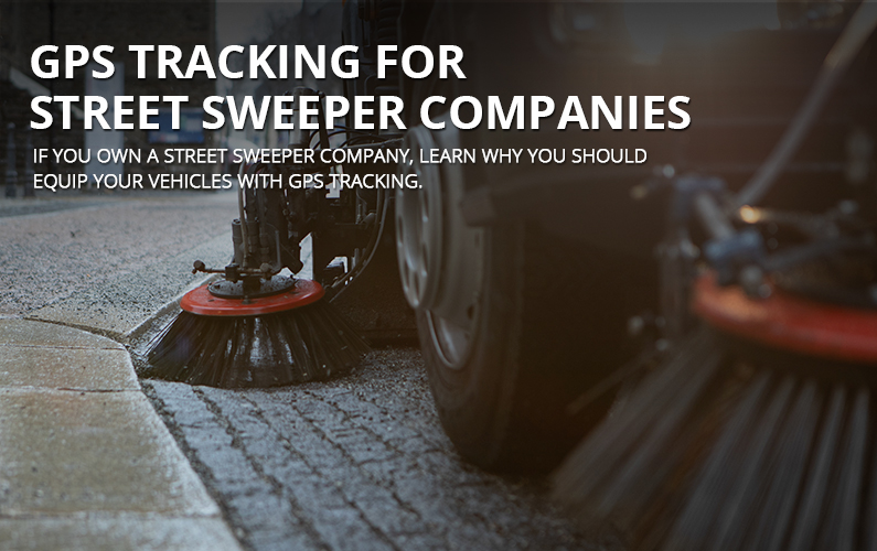 GPS Tracking For Street Sweepers