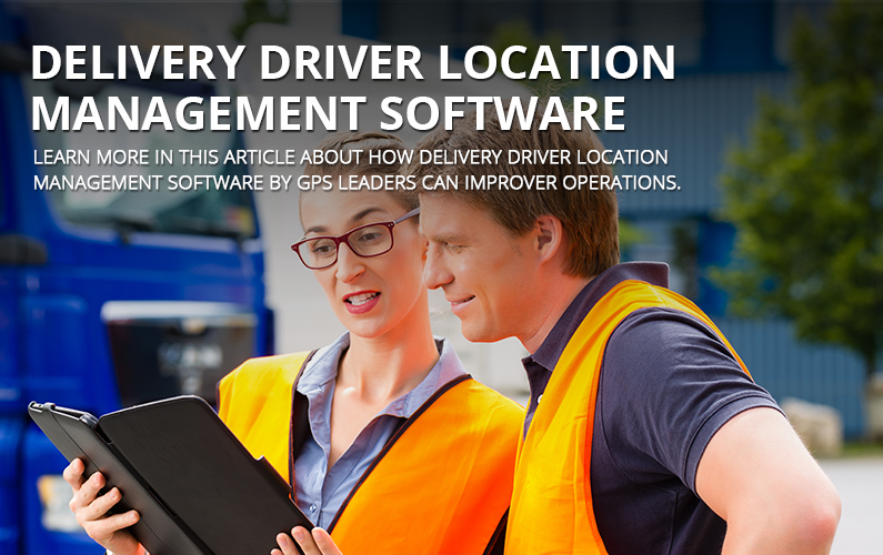 Delivery Driver Location Management Software