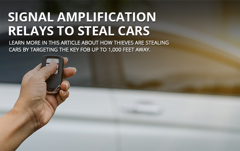 Signal Amplification Relays To Steal Cars