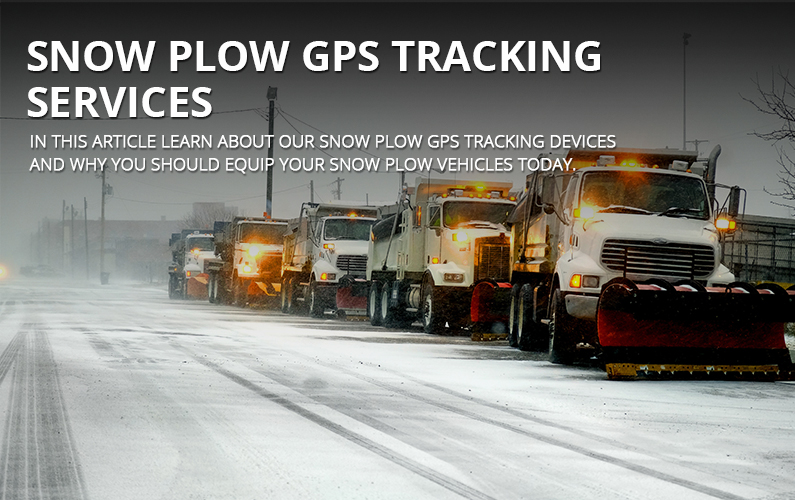 Snow Plow GPS Tracking Services