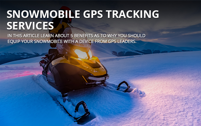 Snowmobile GPS Tracking Services