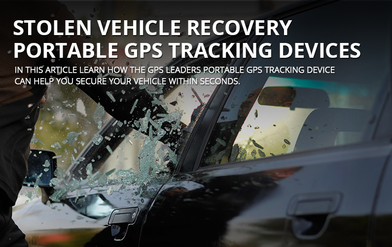 Stolen Vehicle Recovery Portable GPS Tracking Services