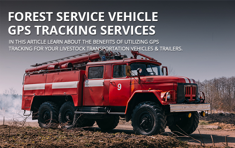 Forest Service Vehicle GPS tracking Services