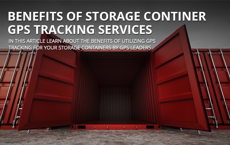 Storage Container GPS Tracking Services