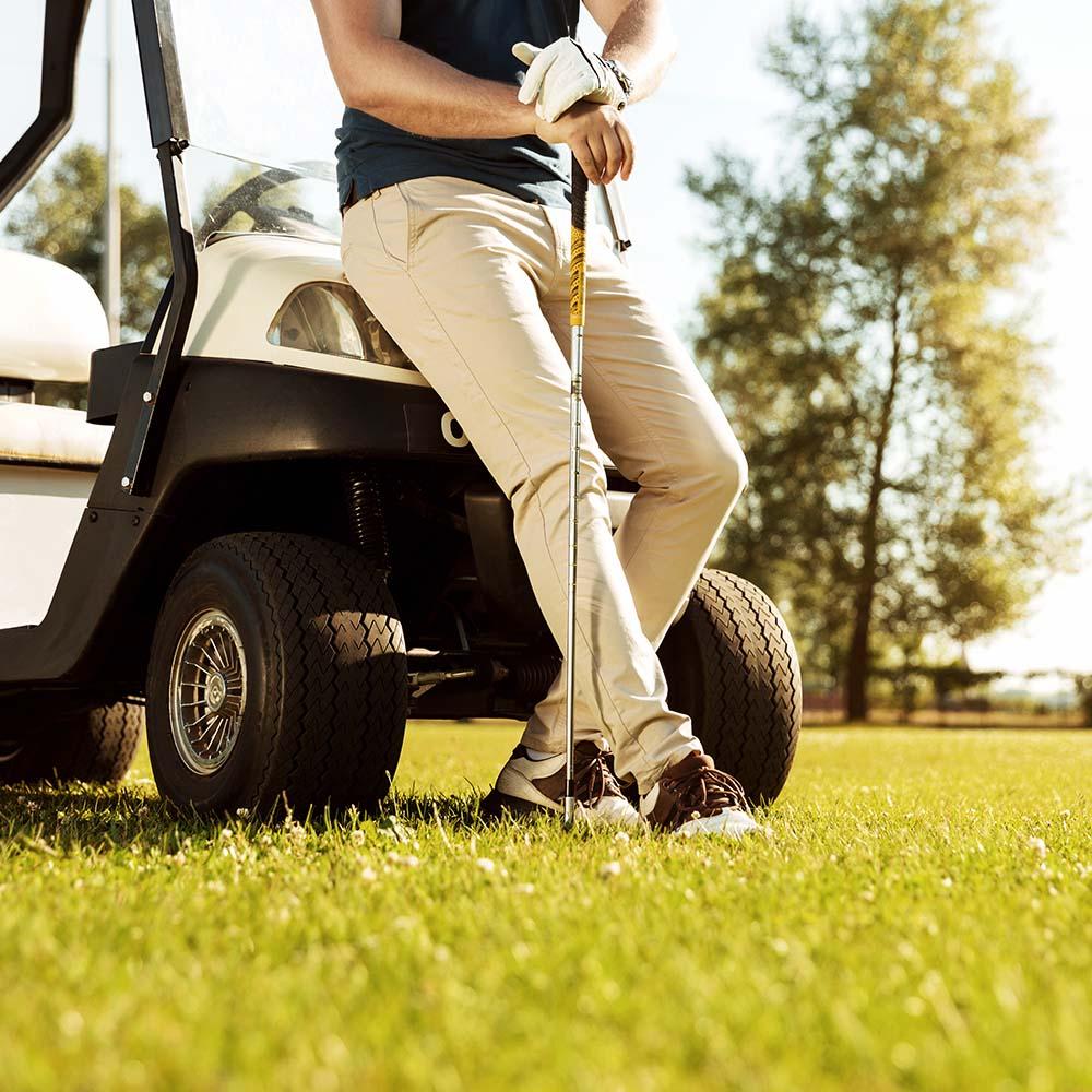 Stranded Golfer
